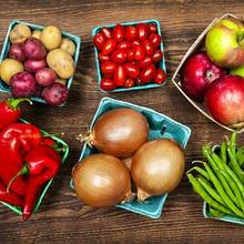 Худеем на фруктах и овощах