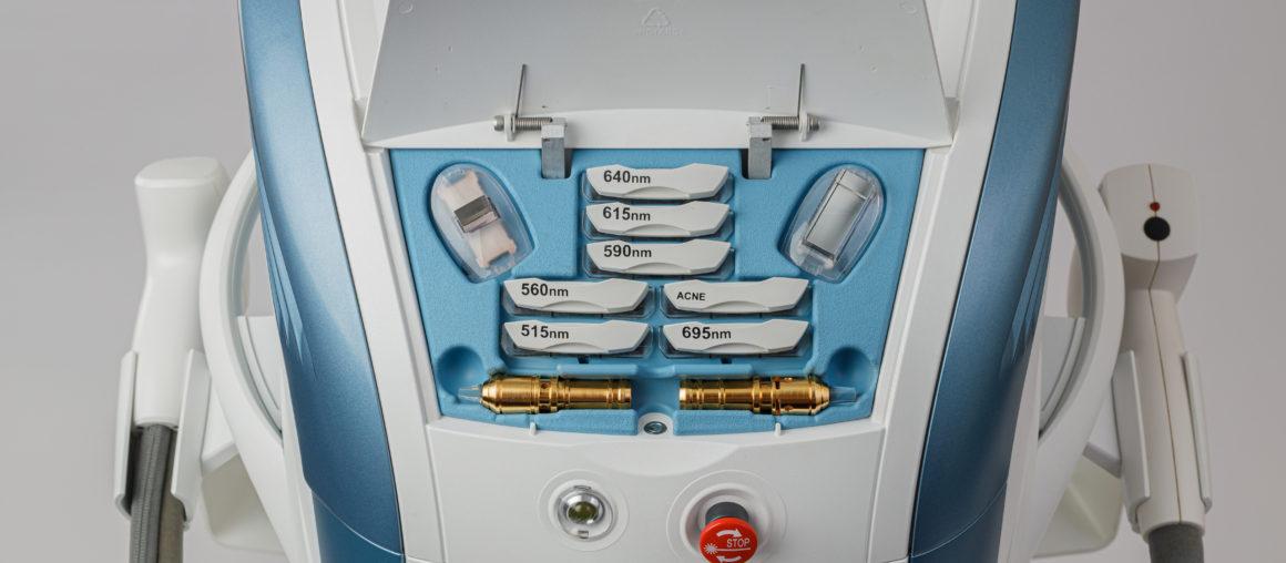 M22 — многомодульная платформа IPL/фракционный лазер