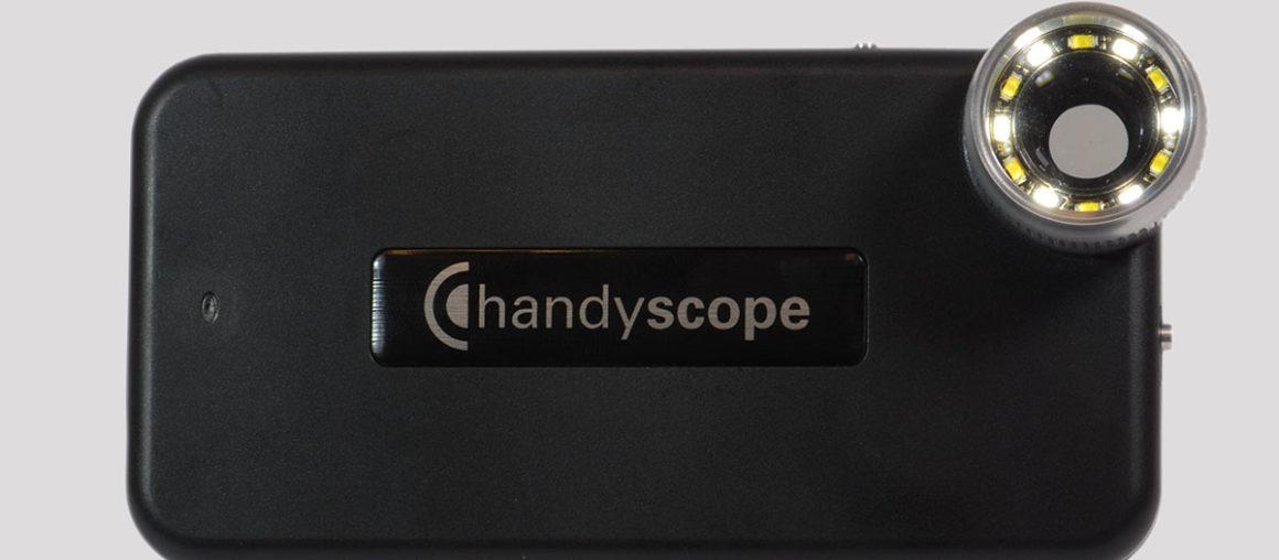 FotoFinder цифровая дерматоскопия - совестное использование с iPhone