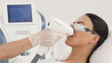 Аппарат для лечения сосудистого купероза: преимущества многомодульной платформы М22