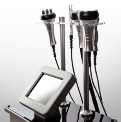 Вакуумный аппарат комбинированный УЗ кавитация и RF лифтинга, 5в1