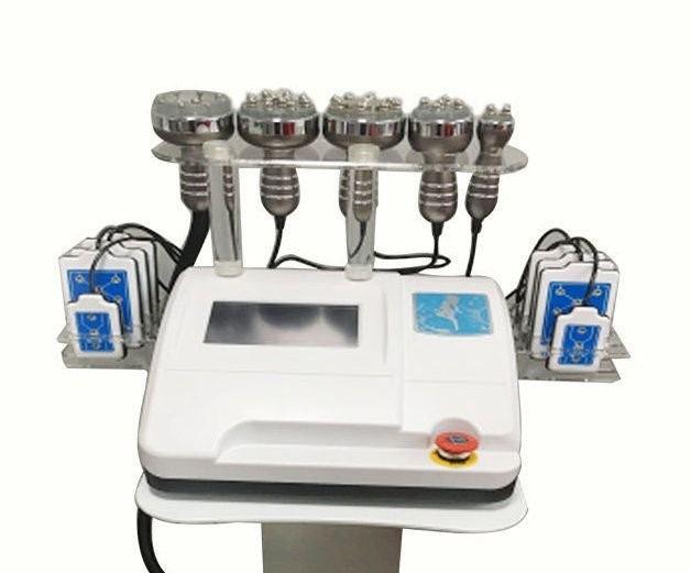 6 в 1 Кавитация, RF, Вакуум+RF, Лазерный липолиз WL-675A. Вакуумная и ультразвуковая кавитация - аппараты, оборудование для вакуумной и ультразвуковой кавитации
