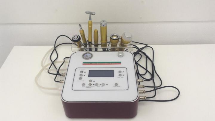 Косметологический комбайн (7 в 1) Micros 5D 6D 7D. Вакуумный массаж - аппараты, оборудование для вибромассажа