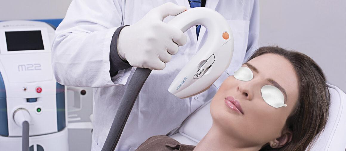 Технология интенсивного импульсного света в современной косметологии