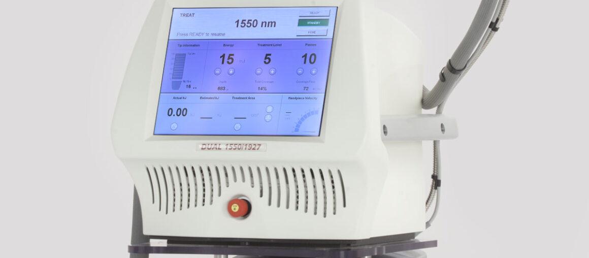 Особенности проведения процедур фракционного фототермолиза на аппарате Fraxel
